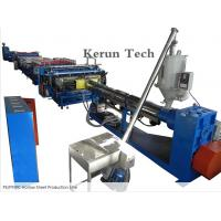Wholesale PVC Sheet Extrusion Line / PE/PP/PC Hollow Sheet Production Line from china suppliers