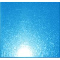 Wholesale PVD Blue Ti-coating Colored Vibration Finish Stainless Steel Sheet / Plate GB, DIN, EN from china suppliers