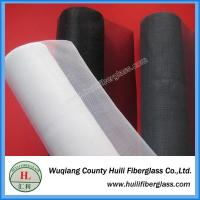 Wholesale 1.2m x 30m roll black pvc coated fiberglass fly screen door mesh from china suppliers