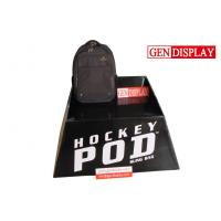 Recyclable Cardboard Bags POS Display Stand With Four Waterproof Feet