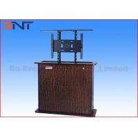 Wholesale Wireless Control Motorized TV Lift , Plasma TV Cabinet Lift Cold Rolled Steel from china suppliers