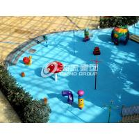 Wholesale Fiberglass Spray Park Equipment For Children / Kids Customized Water Park Equipment from china suppliers