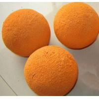 Wholesale Pipe / Hose Concrete Pump Cleaning Ball Customized Color Uniform Surface from china suppliers