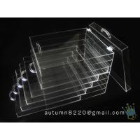 Wholesale BO (114) clear acrylic jersey display case from china suppliers