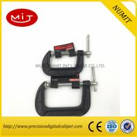 Wholesale Red / Black  G Clamp for Heavy Duty Wood Working with  45 carbon steel,Machinist measuring tool from china suppliers