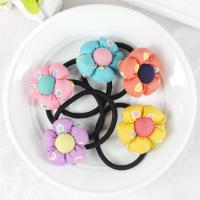 Wholesale Baby accessories children Girls jewelry Rabbit pumpkin flower baby headwear hair ring hair rope elastic hair band from china suppliers