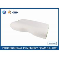 Wholesale Orthopedic Curved Memory Foam Pillow With Bamboo Fiber Cover , Washable Foam Pillow from china suppliers