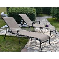 Wholesale BMLQ13175 sling alumicast lounge outdoor lounger modern design from china suppliers