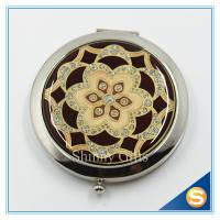 Quality Shinny Gifts Custom Personalized Pocket Cosmetic Mirror Promotional Cosmetic mirror for sale