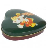 Wholesale Mini Heart Shape Chocolate Tin Box , Sweet Candy Container Box With Lid from china suppliers