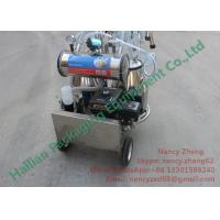 Wholesale CE Certificate Portable Milking Machine for Cow Dairy Farm Milking from china suppliers
