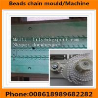 Quality roller blinds curtain beaded beads plastic ball chain mould for sale