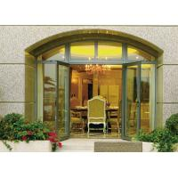 Wholesale Insulated Glass Aluminium Casement Door Waterproof With Grill CCC , ISO 9001 from china suppliers
