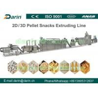 Wholesale SUS304 3D Snack Pellet Machinery from china suppliers
