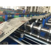 Wholesale Galvanized Steel Perforated Cable Tray Roll Forming Machine Automatic Control PLC from china suppliers