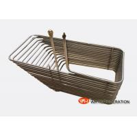 Wholesale Stainless Steel Immersion Coil Heat Exchanger , Coiled Tube Heat Exchanger from china suppliers
