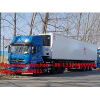Wholesale Factory customized CLW bramd 13.8m length reefer van semitrailer/refrigerator van semitrailer for Africa,  refriger from china suppliers