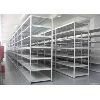 Wholesale Steel Medium Duty Racking System For Storage , Industrial Warehouse Shelving from china suppliers