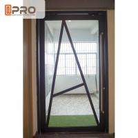 Wholesale Floor Spring Aluminum Pivot Doors For Interior House Customized Size from china suppliers