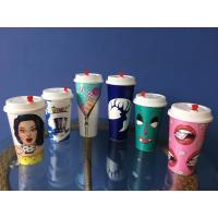 Wholesale Custom Personalized Plastic Cups 3D Lenticular Printing For milk tea from china suppliers