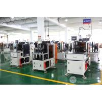 Quality Automatic Single Phase Motor Stator Coil Lacing Machine CNC Controller White Color for sale