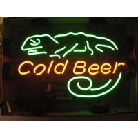 Wholesale 20w Rated Power Neon Beer Signs Easy to be installed metal bracket or pulling chains from china suppliers
