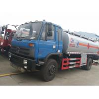 Wholesale Dongfeng 153 4*2 14.5cbm aluminum alloy fuel tank truck/fuel refueling tanker truck, hot sale 15m3 oil dispensing truck from china suppliers