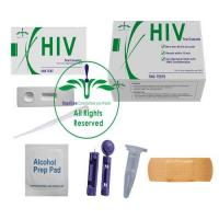Wholesale Hiv home test kit, private hiv test,hiv self test kit, one step hiv test kit, hiv rapid test kit from china suppliers