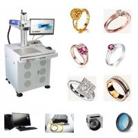 Wholesale Sterling Silver Fiber Laser Engraving Machine 18K 24K Jewelry Gold For Metal from china suppliers