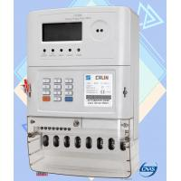 Wholesale Load Management Sts Prepaid Meters , 3 Phase Electricity Meter Safety from china suppliers