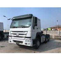 Wholesale Tractor Truck SINOTRUK HOWO RHD 10 Wheels 371HP Single bed ZZ4257N3241W from china suppliers