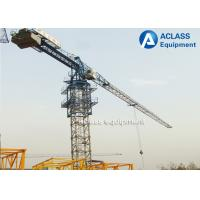 Quality Mini Topless Tower Crane Flat Top Tower Crane PT5010 Anemometer for sale