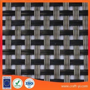 Quality Anti-UV waterproof woven mesh Textilene fabric solar sun lounger fabrics for sale
