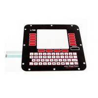 Wholesale Stainless Steel Dome 3M Adhesive Membrane Switch Keyboard For Home Appliance from china suppliers