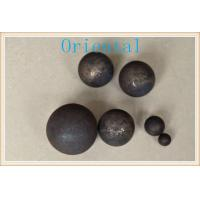 Wholesale Low wear Dia 80mm Iron Grinding Balls for Cement Plant And Mine Mills from china suppliers