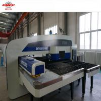 Wholesale SKYB 4 Control Axis Hydralic CNC Turret Punch Press 4000mm Steel Plate from china suppliers