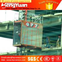 Wholesale Single Cage and Double Cages Construction Cargo Elevator from china suppliers
