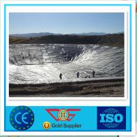 Wholesale 0.35 mm HDPE Geomembrane Waterproof For Solid Waste Containment from china suppliers