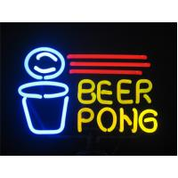 Wholesale Multi Color Espresso / Beer Pong Neon Signs With Double Coating from china suppliers
