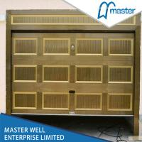 Wholesale Fold Design Sectional Overhead Garage Door Wooden Color Of Galvanized Steel from china suppliers