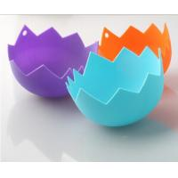 Wholesale Funny Egg Holder,Silicone Egg Poacher,Silicone Egg Boiler from china suppliers