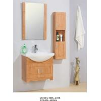 Wholesale 60 X 46 / cm Solid Wood Bathroom Cabinet wall mount Ceramic Basin Material from china suppliers