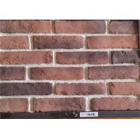Wholesale Multiple Colors Thin Faux Brick Veneer , Exterior Brick Tiles With Kiln Transformation Surface from china suppliers
