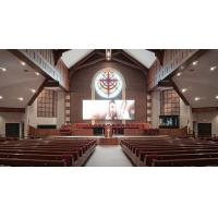 Buy cheap Die Cast cabinet SMD2121 6x3m Indoor Church LED Screen Display high Refresh rate from wholesalers