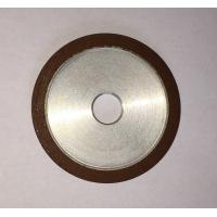 Wholesale Flat Resin Bonded Diamond Grinding Wheels Grit Abrasive For Crank Shaft Magnetic from china suppliers