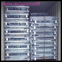 Wholesale Metal Wire Mesh Storage Cage/ metal pallet  cage/security  cage/storage cage on wheels/steel storage cabinets from china suppliers