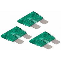 Wholesale Green Auto Blade Fuse For Automative Connector , Mini Blade Car Fuses from china suppliers