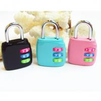 Wholesale 3 Digital Luggage PadLock with Color from china suppliers