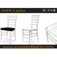 Wholesale Banquet / Meeting Silver Tiffany Chair With 100% Recyclable Materials from china suppliers
