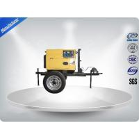 Wholesale 3 Cylinder 75dB large Trailer Mounted Generator 64 kw Output Power in - line Config from china suppliers